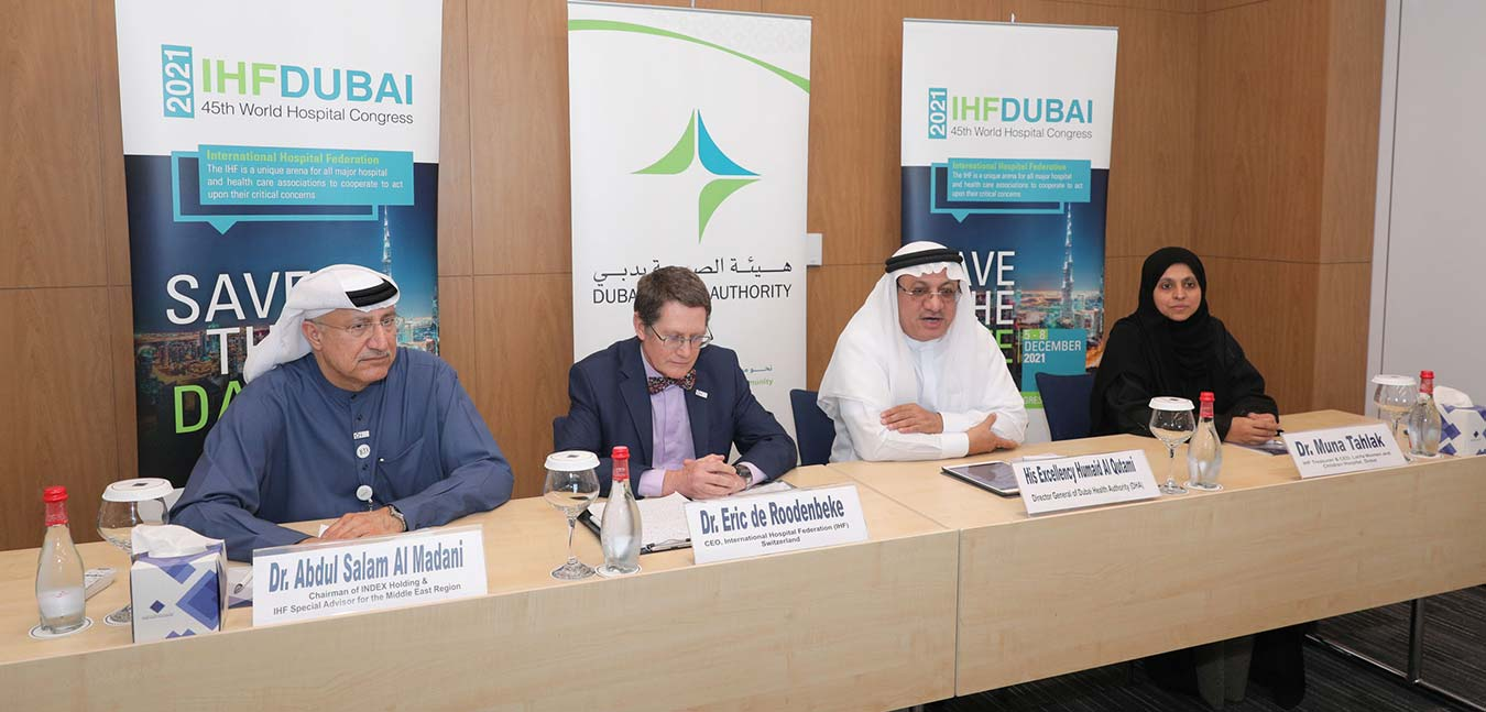 Dubai to Host World Hospital Congress in 2021